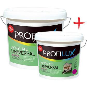 Фарба інтер'єрна матова Profilux Acrylat Universal 14 кг