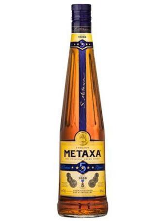 БРЕНДІ 5 зірок, 0,5 л METAXA