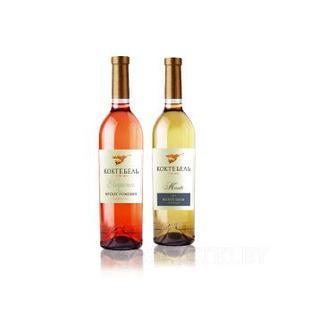Вино Монте Руж, Монте Блан Коктебель 0,75 л