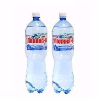 Вода мінеральна Поляна купель-5, Поляна квасова-8 Еколенд 1,5л
