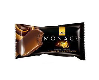 Мороженное Monaco с ароматом трюфель и апельсин Три Ведмеді, 80г