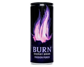 Напій енергетичний Burn Passion Punch, безалкогольний, з/б, 250мл