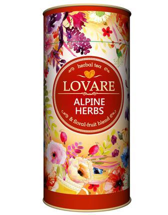 Чай Дика ягода, Світанок княжни, Альпійські трави, Таємничий сад Lovare 80г