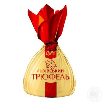 Цукерки Львівський Трюфель Світоч 100 г