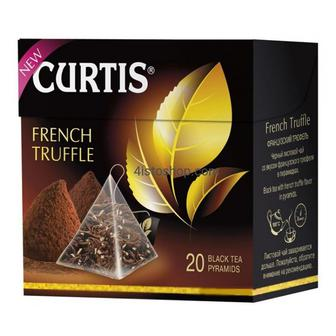 Tropical Mango, зелений/French Truffle, чорний, ароматизований Curtis 20 ф/п х 1,8 г