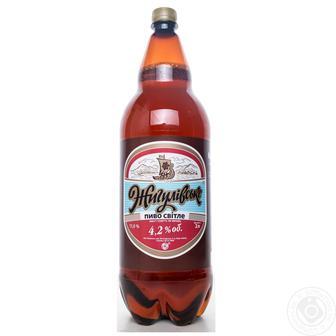 Пиво Світле Жигулівське 2,4 л