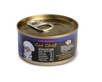 Корм для котів Cat Chef м'ясо курки, 80 г