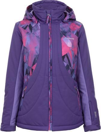 Куртка утеплена жіноча Glissade фолетова