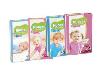 Подгузники Huggies Ultra Comfort 4р -66шт /5р-56шт/ 3р-80шт