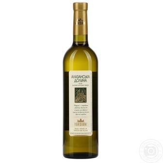 Вино Алазанская Долина Vardiani красное, белое п/сл, 0,75 л