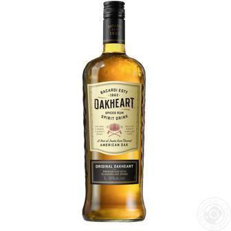 Напій на основі рому Оак Харт Бакарді 0,5 л