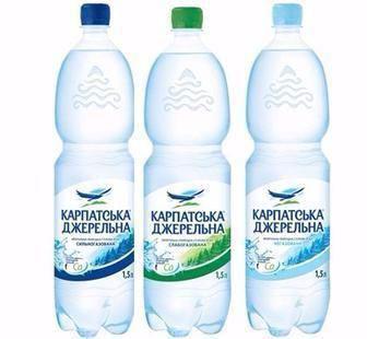 Вода мінеральна Карпатська джерельна 1.5л