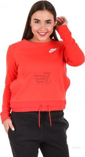 Джемпер Nike W NSW AV15 CRW FLC 831122-852 р. XS помаранчевий