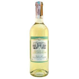 Вино біле або червоне н/сухе Baron de Lirondo 0,75л
