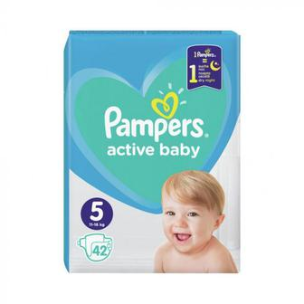 Подгузники PAMPERS Active Baby р5 11-16кг 42шт