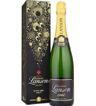 Вино ігристе Champagne Lanson Black Label брют біле 0,75л 12,50%