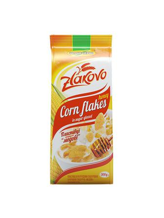 Пластівці кукурудзяні «Медові» Золоте Зерно 300г