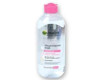 Вода міцелярна для очищення шкіри обличчя Skin Naturals   Garnier, 400 мл