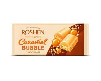 Шоколад Roshen пористий карамельний, 85г