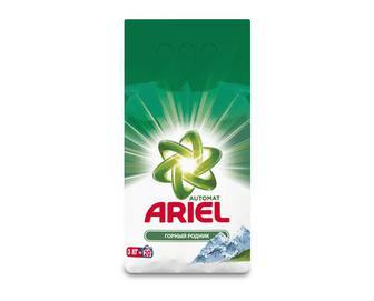 Порошок пральний Ariel автомат «Гірське джерело» 3кг