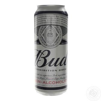 Пиво світле/світле безалкогольне 0,5 л Bud