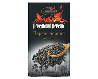 Перець чорний «Любисток» горошок, 20г