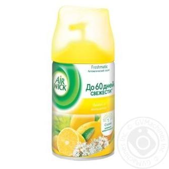 Скидка 20% ▷ Змінний аерозольний балон до Air Wick Freshmatic Лимон і женьшень