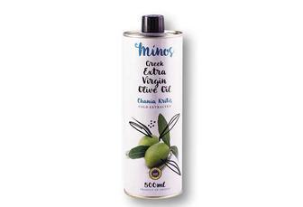 Олія оливкова Extra Virgin Minos» Греція 500 мл