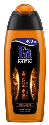 Гель для душу Fa Men Dark Passion Чуттєва свіжість 400 мл