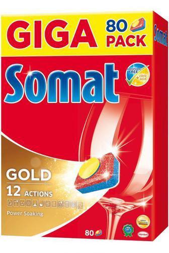 Таблетки для мытья посуды Somat в посудомоечной машине , 80шт