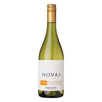 Вино біле сухе Emiliana Novas Gran Reserva Chardonnay 0,75 л