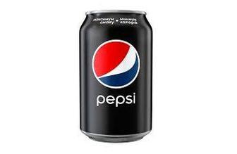 Напиток безалкогольный сильногазированный Pepsi Black 0.33л