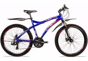 "Велосипед Premier Galaxy Disc 19"" синий с красн-бел-чер"