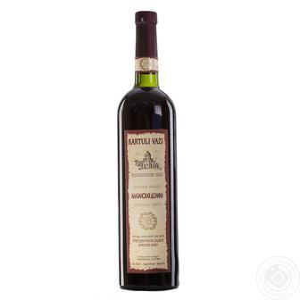 Вино Картулі Вазі Алазанська Долина червоне, н/с, Сапераві червоне сухе 0,75л