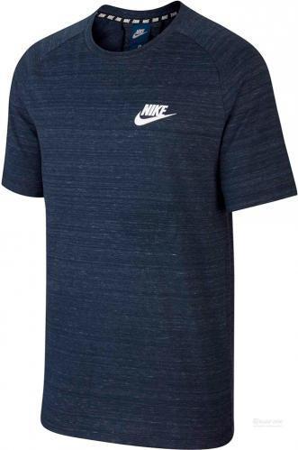Скидка 40% ▷ Футболка Nike M NSW AV15 TOP KNIT SS 885927-451 S темно-синій