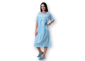Сорочка жіноча, довга з коротким рукавом, р. L-XXL