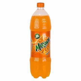 Напиток сильногазированный со вкусом апельсина Mirinda 1,5л