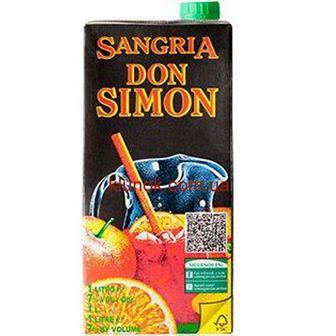 Вино Сангрія червоне солодке Дон Сімон 1л