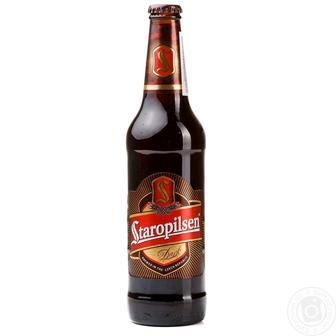 Пиво світле, темне Staropilsen 0,5л