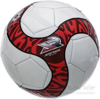 Футбольний м'яч Joerex р. 5 червоно-білий AJAB40053