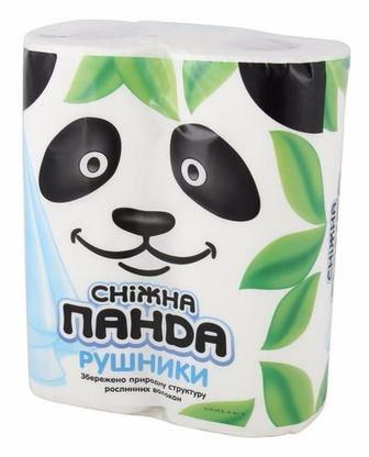 Паперові рушники Сніжна Панда 2шт