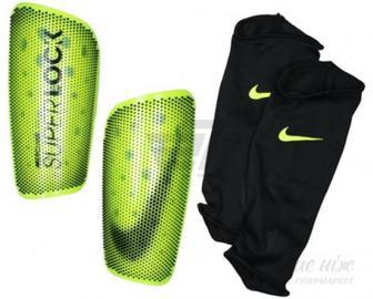 Щитки футбольні Nike NK MERC LT-SUPERLOCK р. M жовтий