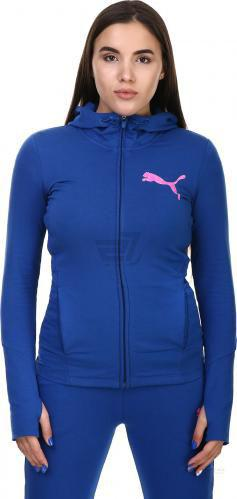 Спортивна кофта Puma ELEVATED FZ Hoody W р. M синій