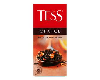 Чай чорний Tess Orange, 25*1,5г
