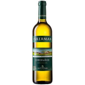Скидка 19% ▷ Вино Inkerman Совіньйон біле сухе 0,7л