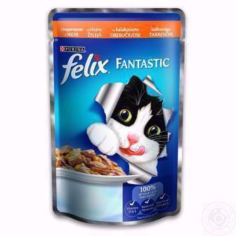 Корм для котів Фелікс Фантасті 100г
