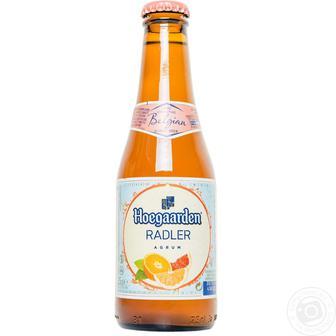 Пиво Hoegaarden Radler Agrum Грейпфрут 0,25л