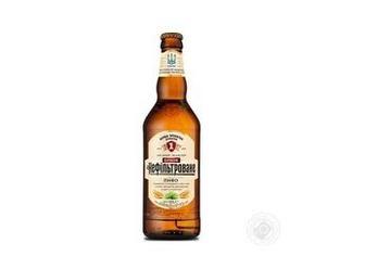 Пиво Перша приватна броварня Бочкове нефільтроване світле 4,6% 0,5л