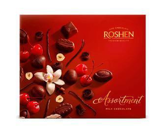Конфеты шоколадные Assortment Elegant ТМ Roshen, 145г