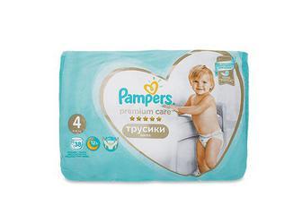 Підгузки-трусики Pampers Premium Care Pants Maxi 9-15 кг 38 шт./уп